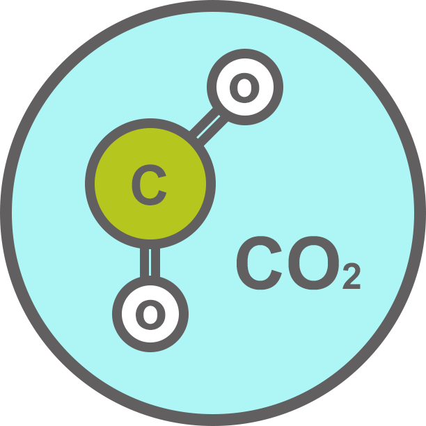 CO2 molecuul